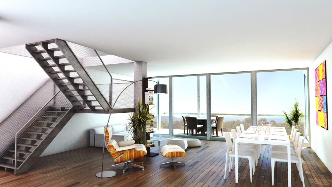 Duplex Penthouses Luxury Real Estate Geneva