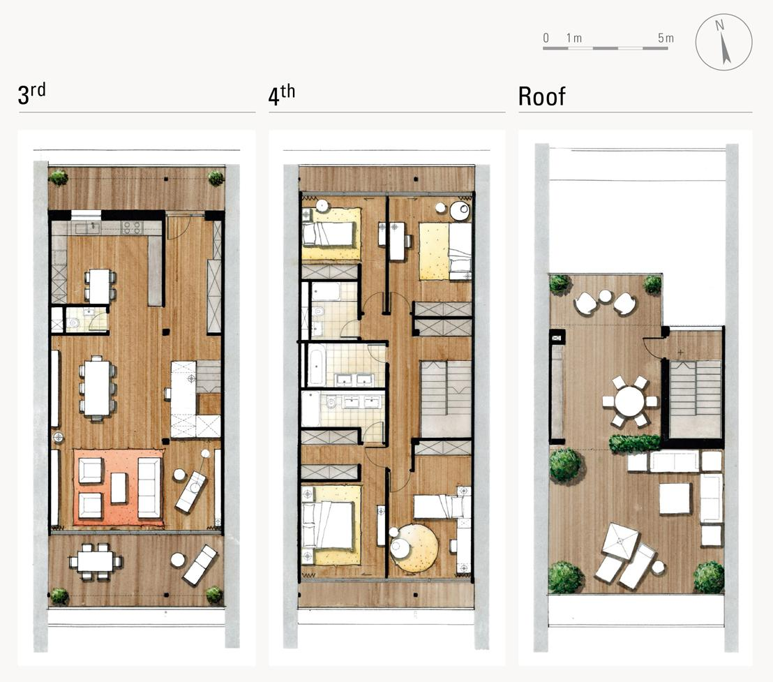 Duplex penthouses luxury real estate duplex geneva z44 for Types of duplex houses