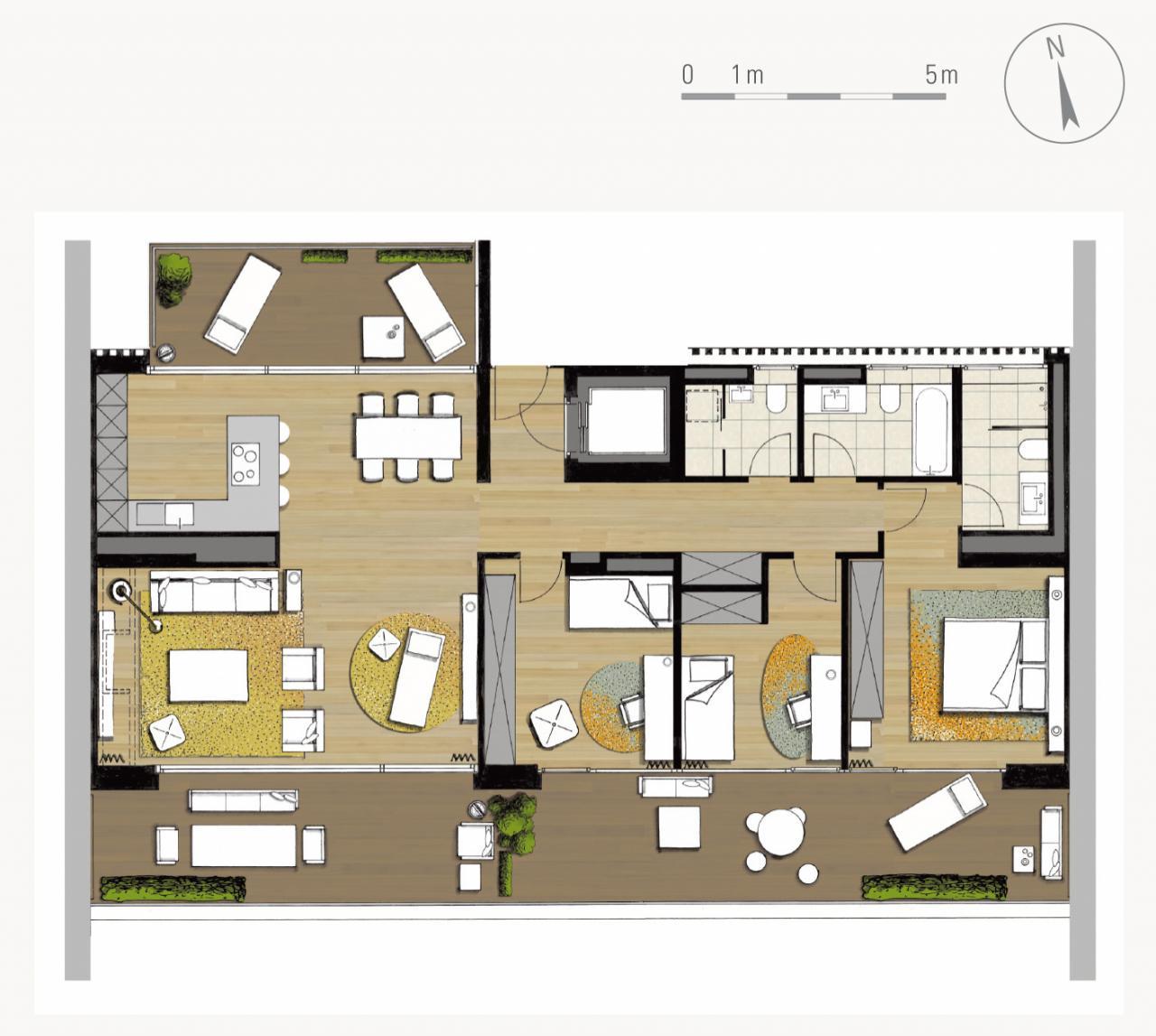 Vue En Plan Dun Duplex Pdf : Attiques genève résidence haut standing terrasse en