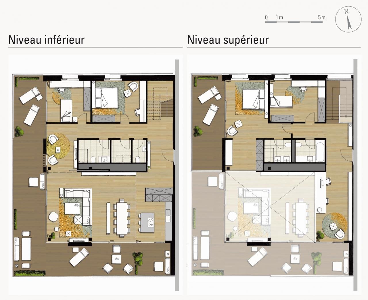 plan de duplex joy studio design gallery best design